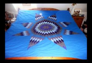 Hvězdný přehoz přes postel